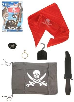 Piraat Set 6dlg