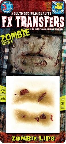 Professionele Wond FX - Zombie Lippen