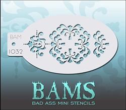 Bad Ass Schmink Stencil 1032