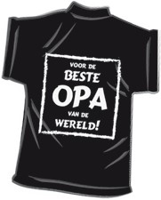 Mini-shirt Opa