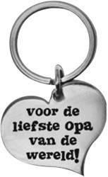 Hart Sleutelhanger Opa