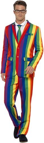 Herenkostuum Rainbow - Regenboog