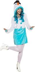 Damesjurkje Sneeuwpop Luxe