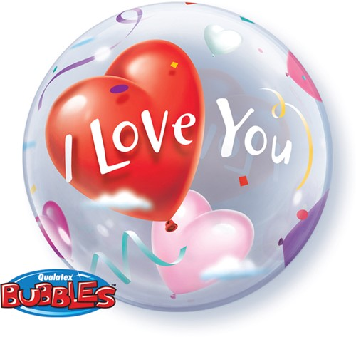 Bubble Ballon I Love You