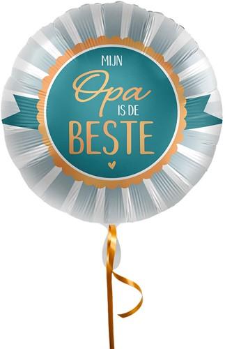Folieballon Opa Is De Beste (43cm)