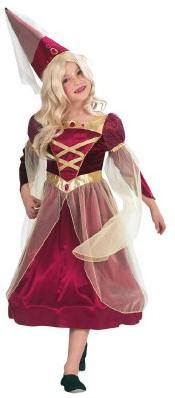 Kostuum Burchtvrouw Luxe voor meisjes