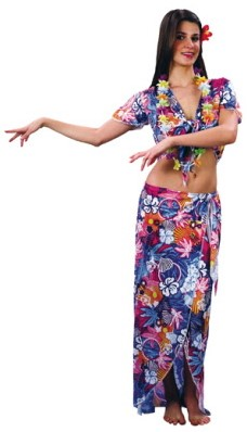 Hawai set dames 4-delig