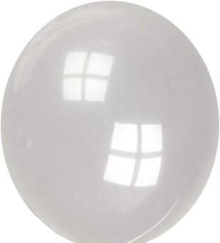 Ballonnen Transparant 30cm - 100st