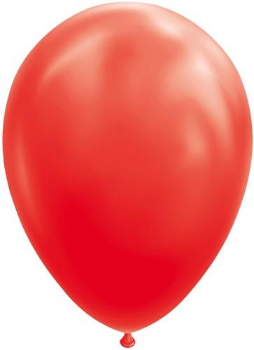 Ballonnen Rood 100 stuks 30cm