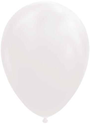 Ballonnen Wit 100 stuks 30cm