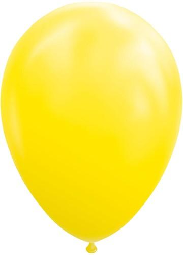 Ballonnen Geel 25 stuks 30cm