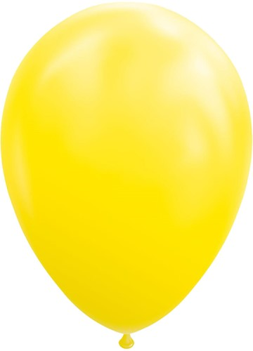 Ballonnen Geel 100 stuks 30cm