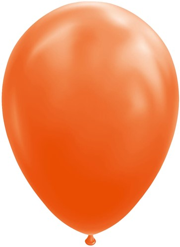 Ballonnen Oranje 100 stuks 30cm