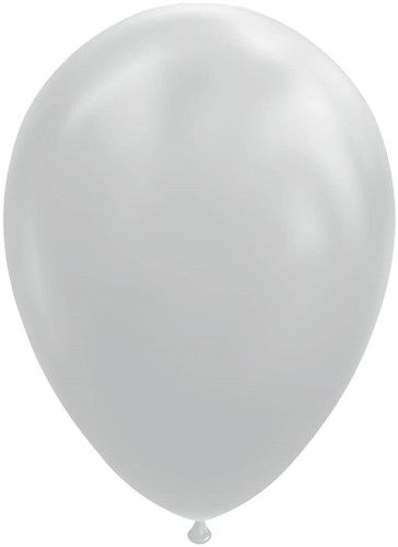 Ballonnen Grijs 30cm - 100st