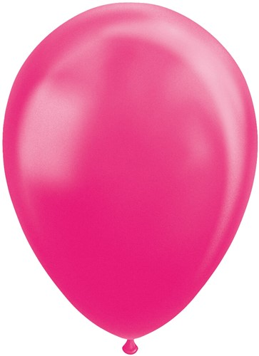 Ballonnen Metallic Pink 30cm - 100st