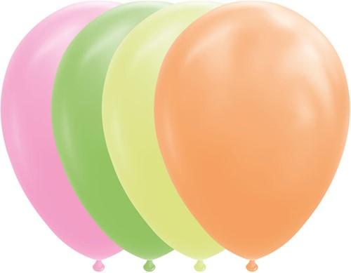 Ballonnen Neon 30cm - 100st