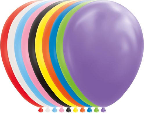 Ballonnen Multi 30cm - 25st