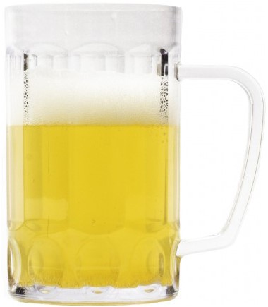 Bierpul Plastic 0,5 liter