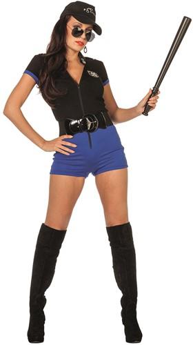 Catsuit Politie voor dames