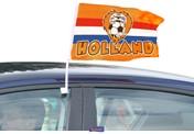 Autovlag RWB Oranje Leeuw 30X45CM