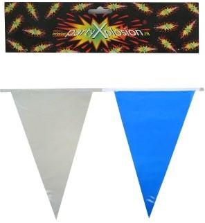 Vlaggenlijn Blauw/Wit 10mtr