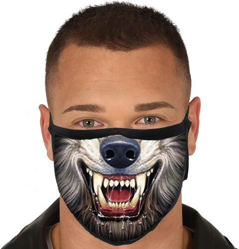 Mondkapje Wolf