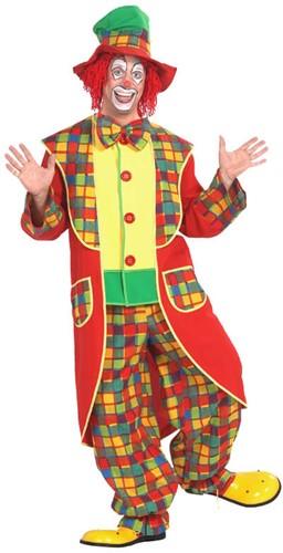 Clownskostuum met hoge hoed