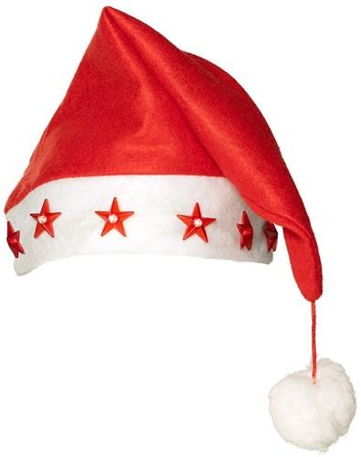 Kerstmuts Verlicht Ster