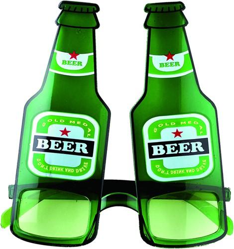 Bril Bierflessen Beer