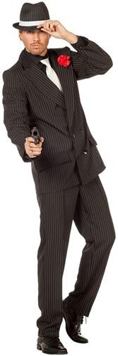 Gangsterkostuum Gestreept voor heren