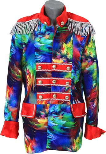 Heren Carnavalsjas Colorful Leaves Luxe