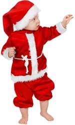 Baby Kerstmanpakje Fluweel