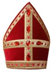 Decoratie Kokermijter Sinterklaas Breed