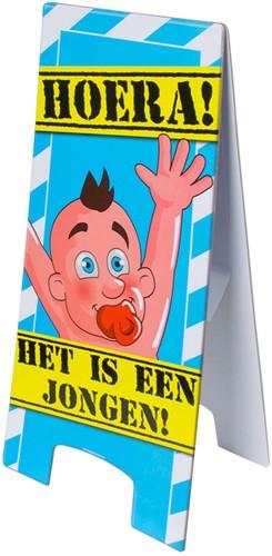 Warning Sign Hoera Jongen!