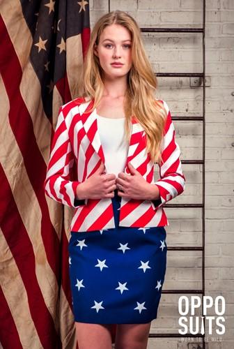 Dameskostuum OppoSuits American Woman (sfeerbeeld)