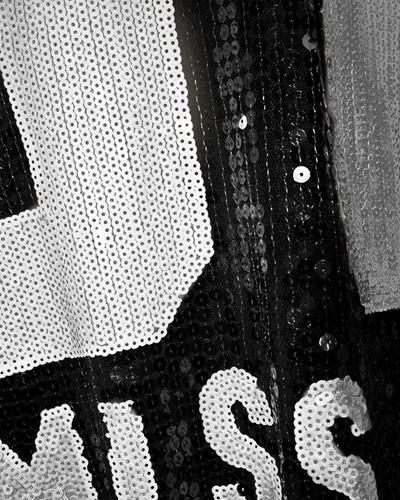 Pailletten Jurkje Miss Perfect 61 Zwart/Zilver-3