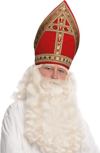 Kokermijter Sinterklaas Rood