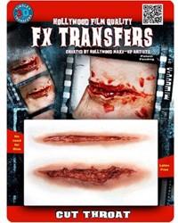 Professionele Wond FX - Doorgesneden Keel