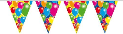 Vlaggenlijn Ballonnen 10mtr