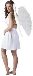 Engelenvleugels Wit 87X72cm