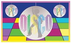Gevelvlag Disco (90x150cm)