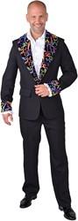 Eighties Disco Colbert Zwart met Fluor Sterren