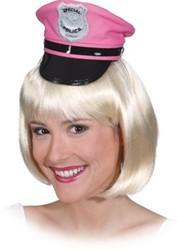 Diadeem Politie Pet Pink