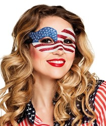Oogmasker Amerika USA Luxe