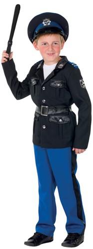 Kinderkostuum Politie Agent Luxe