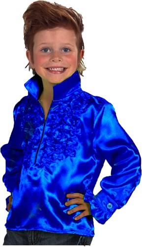 Sjonnie Blouse Blauw Kind