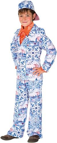 Kostuum Delftsblauw voor kinderen