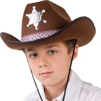 Kinder Cowboyhoed Sheriff Bruin-2