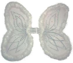 Vleugels Engel Marabou Wit