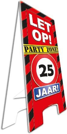 Warning Sign 25 Jaar